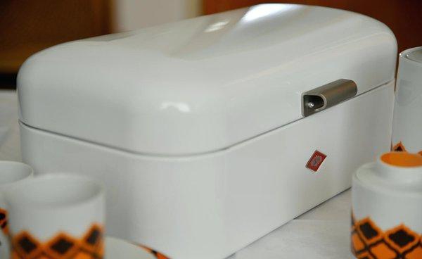 Grandy Brotkasten Retro Style 235201 In Warm Grey Design